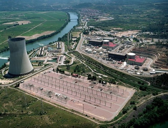 Central nuclear d'Ascó (Arxiu)