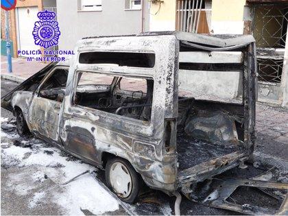 Detenido en Valladolid el autor de un incendio en Barrio España por una deuda económica