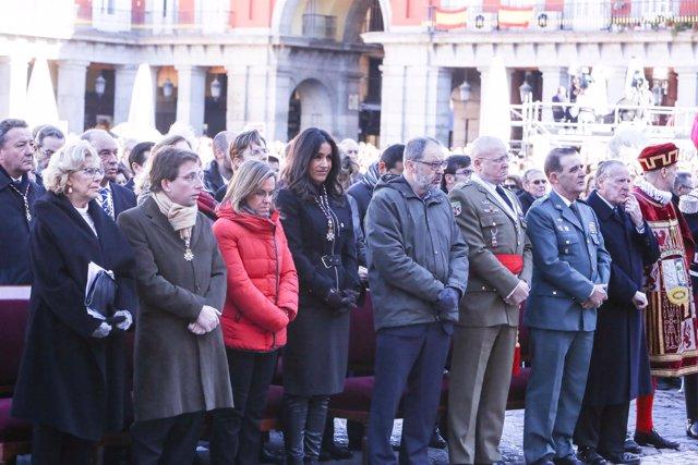 Misa solemne con motivo de la Festividad de Nuestra Señora de la Almudena en Mad