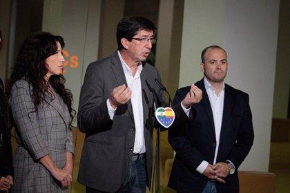 """Marín (Cs) afirma que Susdana Díaz """"apoyo"""" en 2012 que los andaluces paguen el impuesto de hipotecas """"más alto de España"""
