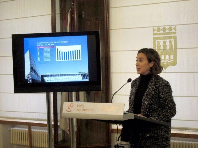 Gamarra, en la presentación del presupuesto 2019