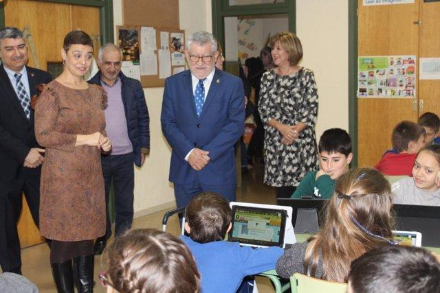 Felpeto en el Colegio Público 'Pérez Molina' de Ciudad Real