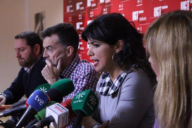 Adelante Andalucía se reúne con representantes de UGT-A