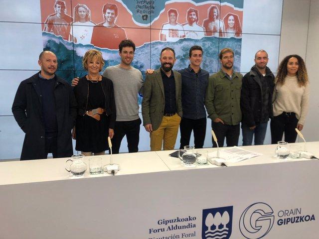 Presentación del proyecto 'Surfing San Sebastian Region'