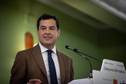 Moreno prioriza que PSOE-A no presida el Parlamento y evitar la abstención de votantes del PP-A