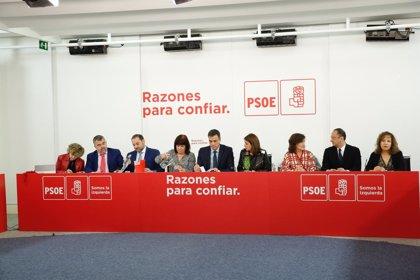 Los presidentes de Extremadura y Aragón tampoco acudirán al Comité Federal del PSOE en Fuenlabrada (Madrid)
