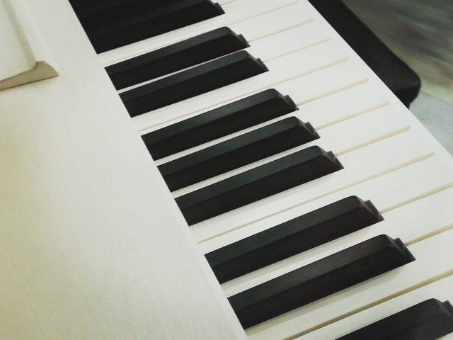 Imagen de las teclas de un piano