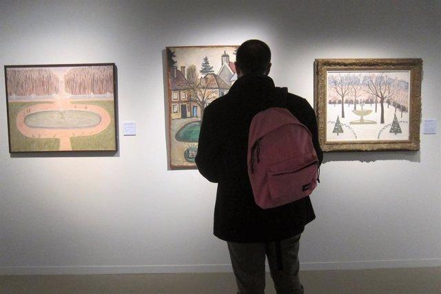 Exposición de Maria Girona y Albert Ràfols Casamada en Montserrat