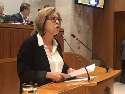La consejera de Sanidad dice que se mantiene la previsión de iniciar el Hospital de Teruel en marzo
