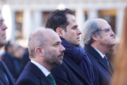 """Aguado pide al Gobierno municipal """"que recapacite"""" para poder transitar por Madrid """"con normalidad y tranquilidad"""""""