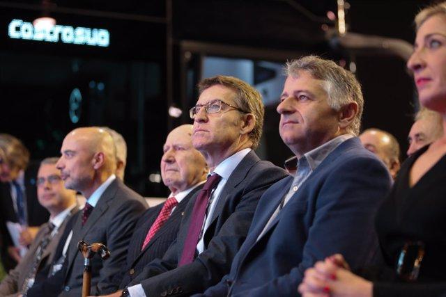 Feijóo preside la celebración del LXX Aniversario del Grupo Castrosúa