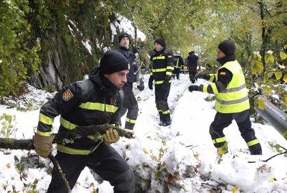 Los ayuntamientos piden al Principado ayudas para reparar los daños del temporal de nieve