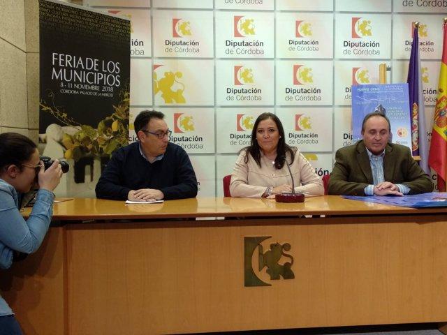 Carrillo, durante la presentación de actividades de Puente Genil