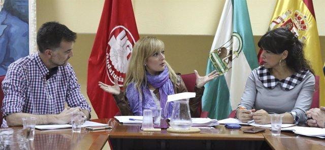 Reunión de Adelante Andalucía con UGT-A