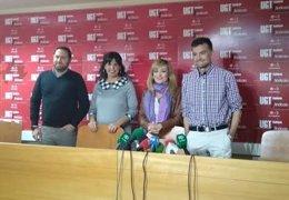 Reunión de UGT-A con Adelante Andalucía