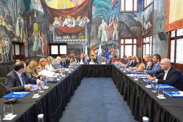 Reunión de la Comisión de Diputaciones de la FEMP.