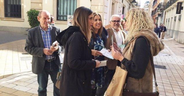 La candidata número dos por el PSOE de Huelva al Parlamento, María Márquez.