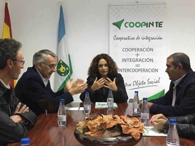 La consejera de Conocimiento, Lina Álvarez.