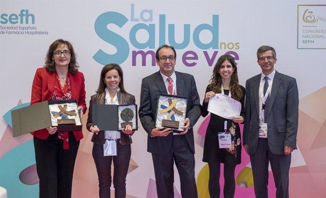 Ganadores de los premios SEFH 2018