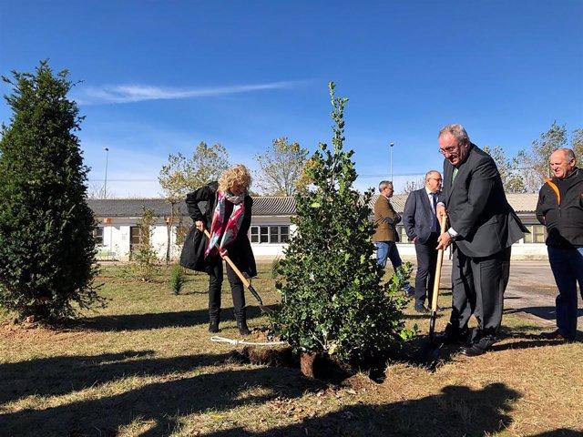 Inauguración del bosque centenario de Sidenor