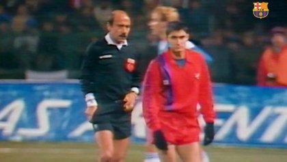 """Valverde, sobre su debut con el Barça hace 30 años: """"Cruyff me dio el '14' y al final debuté"""""""