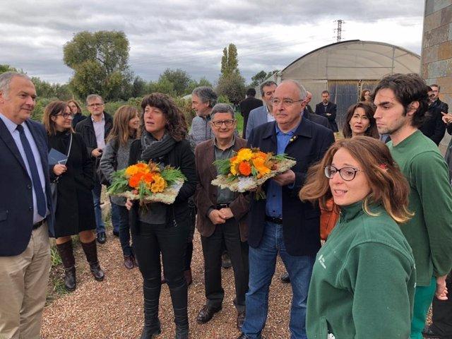 Teresa Jordà i Josep Bargalló