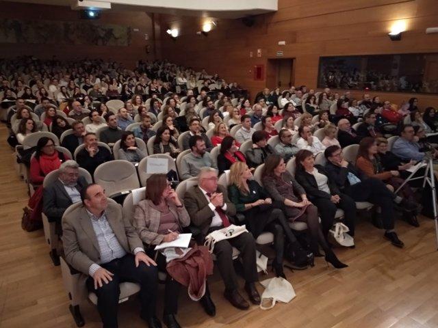 Asistentes al Congreso Jaén Educa