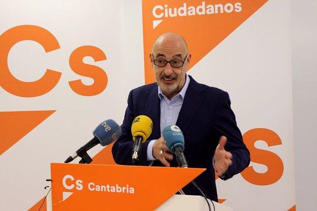 Félix Alvarez, portavoz autonómico de Cs