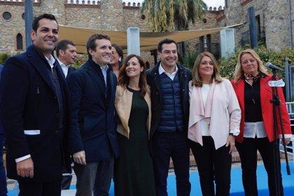 """Casado asegura que Linares (Jaén) saldrá del """"atolladero"""" con las """"buenas políticas"""" del PP"""