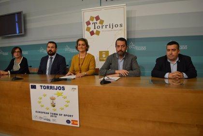 Torrijos recogerá el 4 de diciembre en Bruselas el galardón que la reconoce como Villa Europea del Deporte en 2019