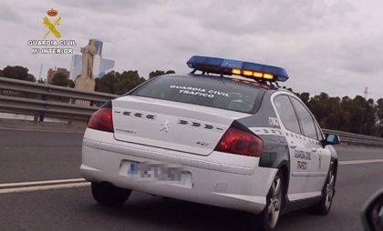 Cuatro heridos en dos accidentes de tráfico registrados este viernes en la A-44, en Granada