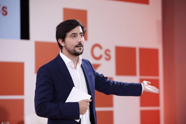 El portavoz económico de Ciudadanos, Toni Roldán