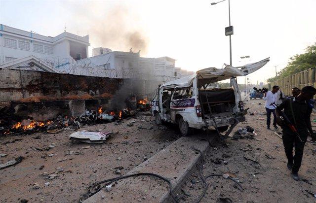 Atentado suicida en un hotel de Mogadiscio