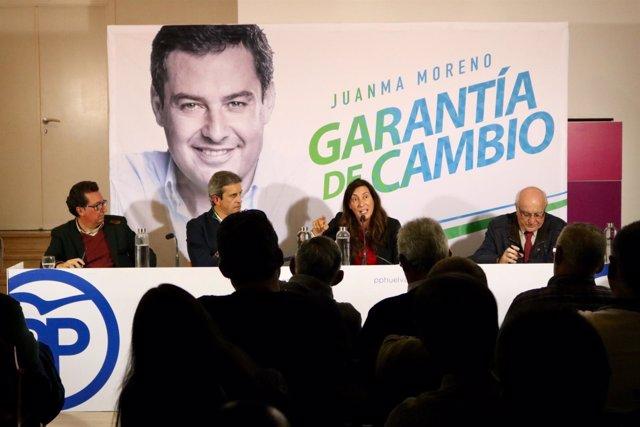 Secretaria general del PP-A y número uno por Huelva al Parlamento, Loles López