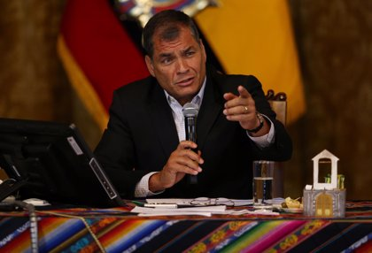 La Fiscalía de Ecuador abre una investigación por presunta especulación contra el expresidente Correa