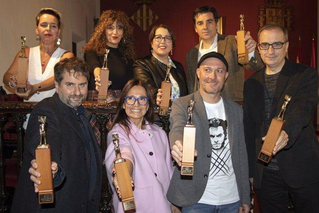 Galardonados en los Premios Ciutat de Alzira 2018