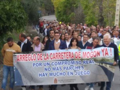 La Junta actuará de emergencia este mes para arreglar la carretera de Villacarrillo a Mogón, en Jaén