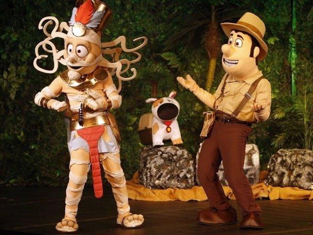 El musical infantil de Tadeo Jones llega al Auditorio El Batel