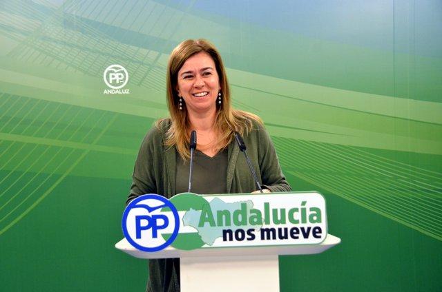 La parlamentaria del PP-A Teresa Ruiz Sillero