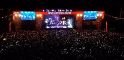 Unos 9.000 jóvenes disfrutan del #Murciasemueve en el Cuartel de Artillería