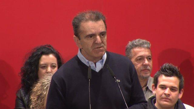 """Franco (PSOE) asegura que lo esencial es """"desalojar al PP"""""""