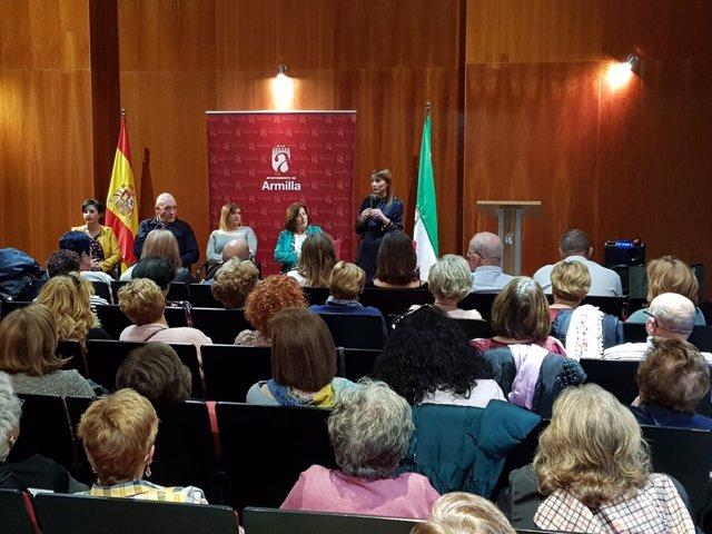 Encuentro con colectivos de mujeres en Armilla