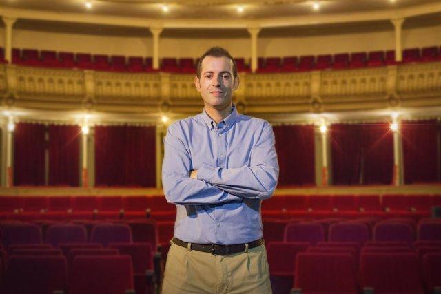 Curro Verdegay, gestor de Kuver Producciones y responsable del Teatro Cervantes