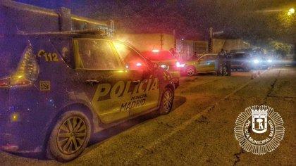 Dos detenidos en la Cañada Real por circular con un vehículo robado y sin el permiso de conducir en vigencia