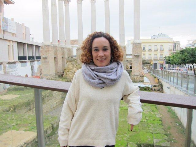 La cabeza de lista de Adelante Andalucia por Córdoba, Ana Naranjo