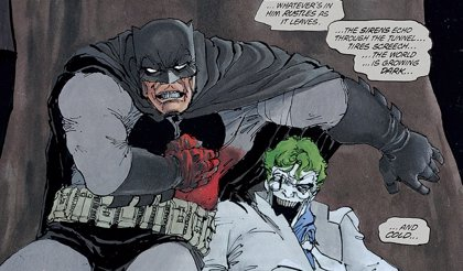Frank Miller iba a matar a Batman en el final original de El Regreso del Caballero Oscuro