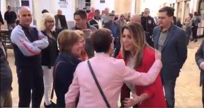 """Susana Díaz asegura que se """"trabaja"""" para que el AVE llegue a Almería """"antes incluso del plazo de 2023"""""""