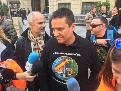 """Espinosa (Jusapol): """"Queremos terminar lo que no pudimos el 29 de septiembre"""" en Barcelona"""