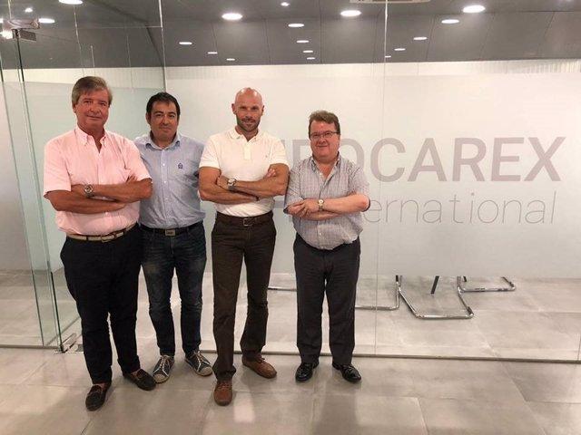 Blockchain Murcia visita Eurocarex