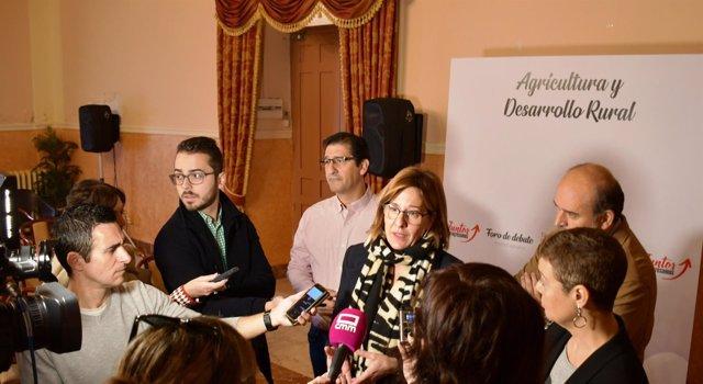 Portavoz del PSOE en las Cortes, Blanca Fernández